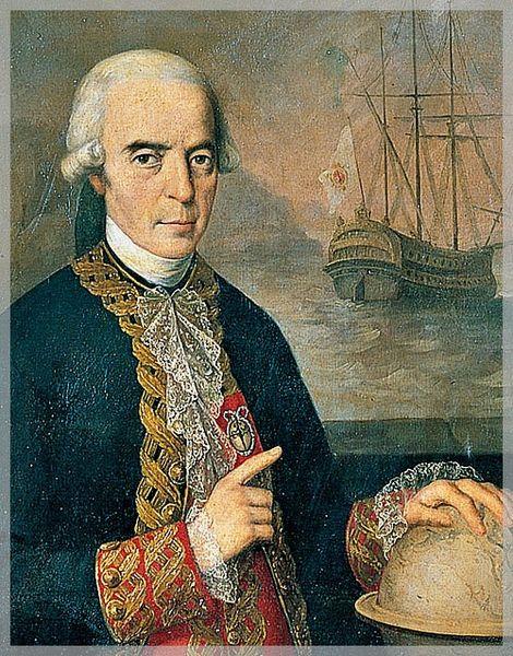 Antonio de Ulloa y García de la Torre. Caballero de Santiago