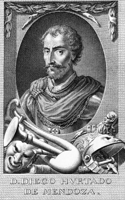 Diego Hurtado de Mendoza. y Pacheco