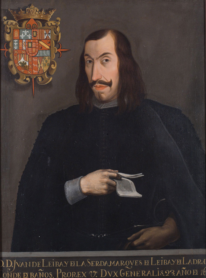 Juan Francisco de Leyva y de la Cerda, marqués de Leyva y de Labrada, conde de Baños
