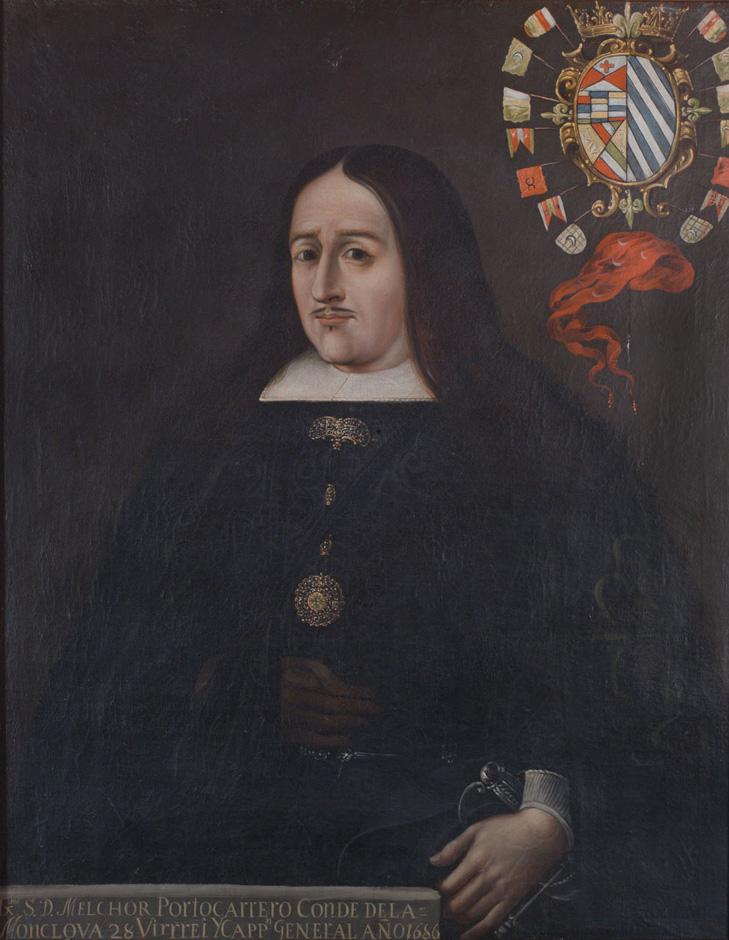 Melchor Portocarrero Lasso de la Vega, Conde de la Monclova