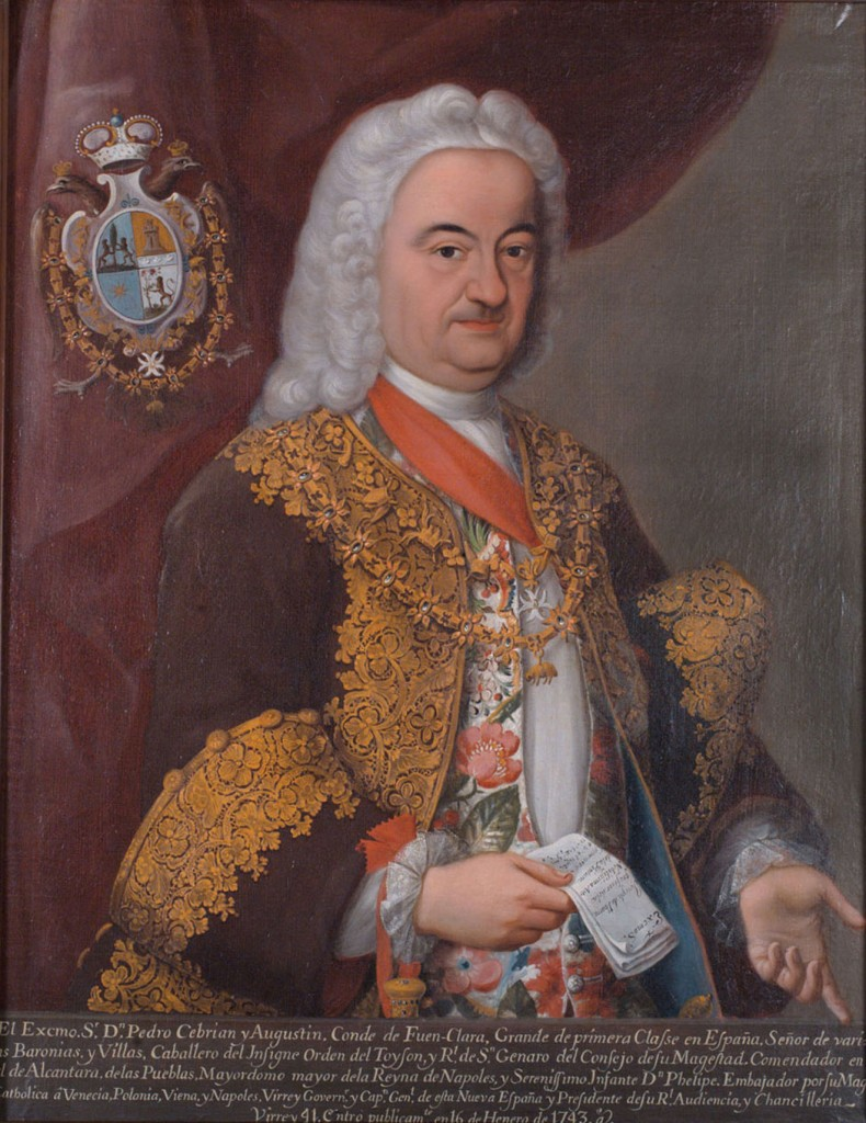 Pedro de Cebrián y Agustín, Conde de Fuenclara