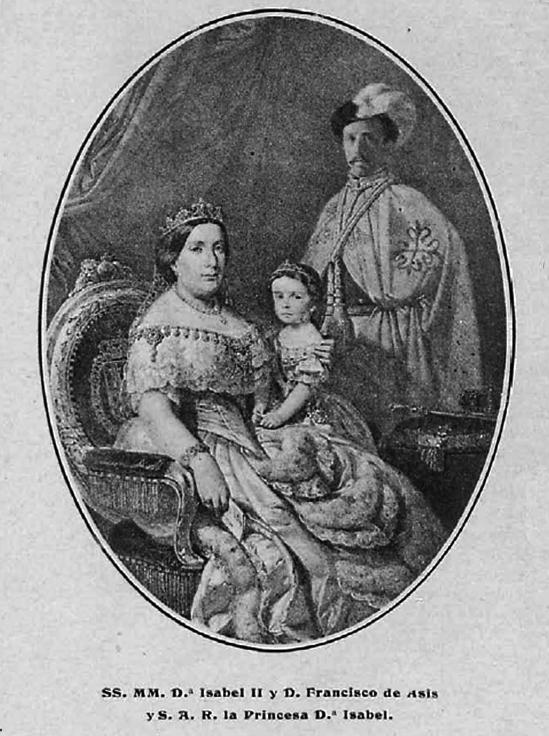 Isabel II Francisco de Asis