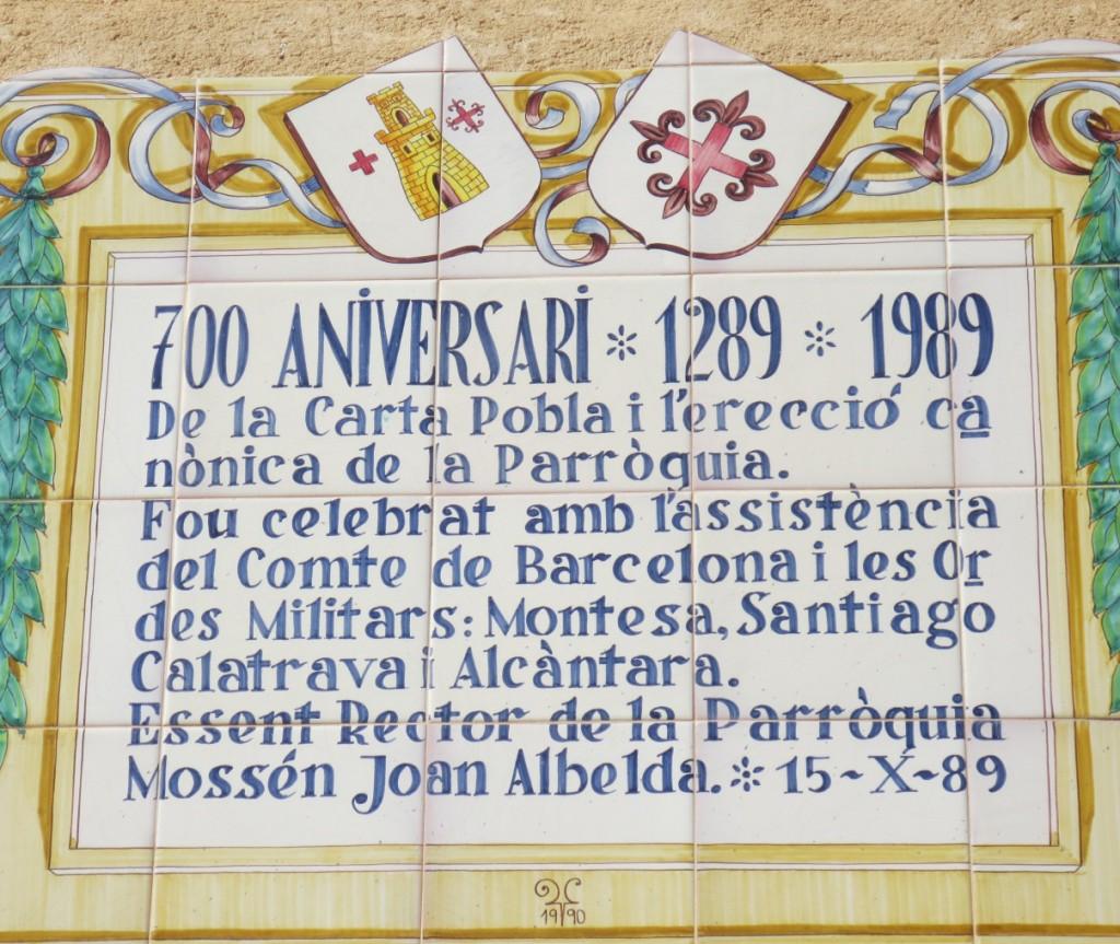 725 Aniversario de la Carta Puebla de las Villas de Montesa y Vallada 10